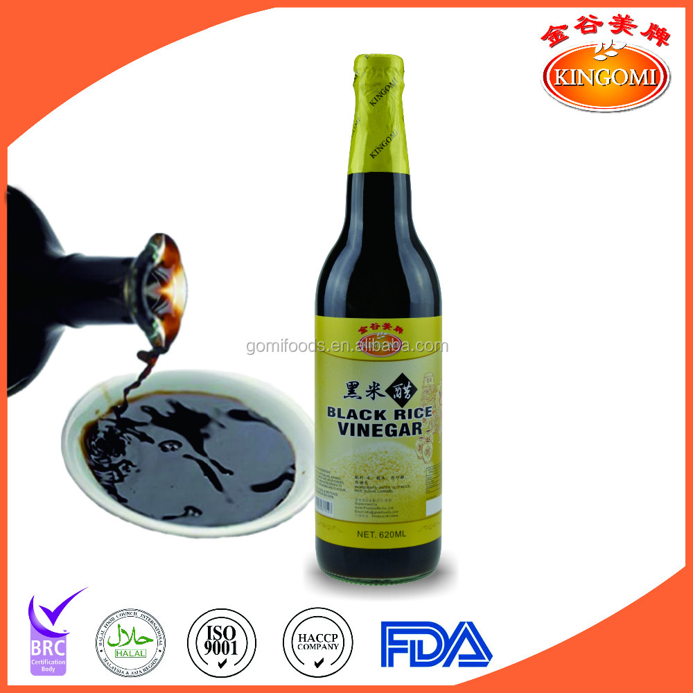 Naturally fermented Black rice vinegar 600ml