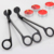 Black round head candle scissors wick trimmer for Bar  Restaurant