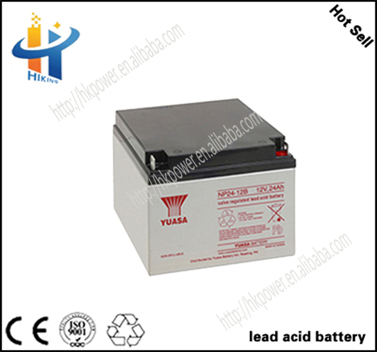 Made In China Battery 24ah lead acid battery 12v