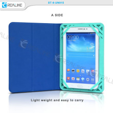 Silicon universal tablet pu leather case for 7 8 inch tablet PC