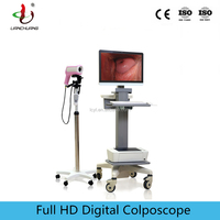 High resolution medical electric vagina video colposcope for gynecology