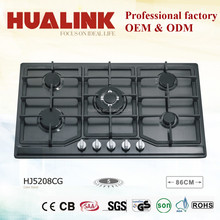 HJ5208CG cast iron gas burner with big pan support for cooking