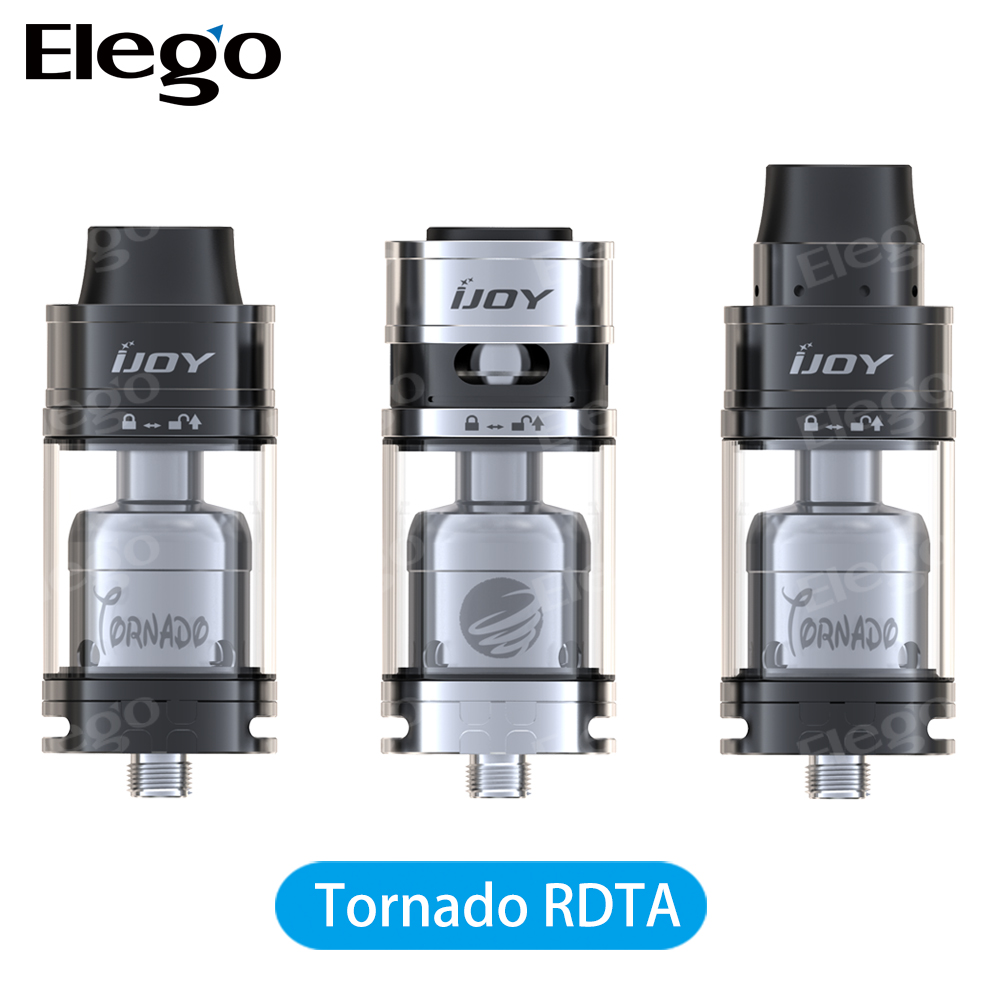 Elego Hot New Tank IJOY Tornado RDTA 5ml With Solo Mini Mod in Stock Wholesale