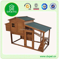 DXH015 Outdoor Wooden Chicken Coop with Large Run / Chicken House