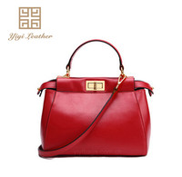 High quality factory wholesale ladies office woman bag leather fashion handbag