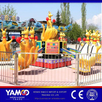 (YAMOO)Family entertainment kids ride amusement machine kangaroo jump toy for sale!!!
