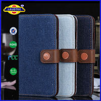For Apple iPhone 5 Durable Leather Wallet Case Cover ,Cell Phone Flip Case Stand Cover for iPhone 5 Laudtec