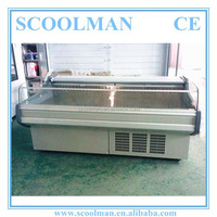 Horizontal Self-service Meat Shop Equipment