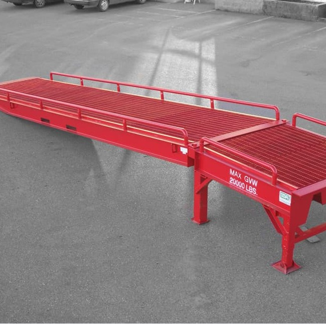 CE-Approved Hydraulic Loading Ramp