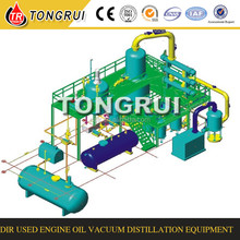 Hot sale China Used Engine Oil Recycling Machine Vacuum Distillation Unit manufacturer