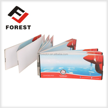customized cheapest airline boarding pass, thermal paper flight tickets, air fright tickets