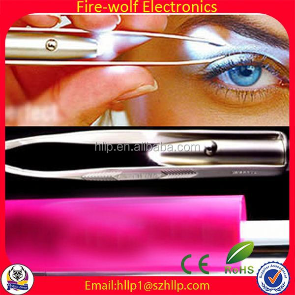 New Products On Sale 2014 advertising rhinestone eyebrow tweezers