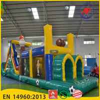 Airpark Giant Inflatable Obstacle Course Commercial Inflatable Obstacle Course Adult On Sale