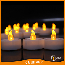 LED Tea Light Candles With Battery Operated and Timer