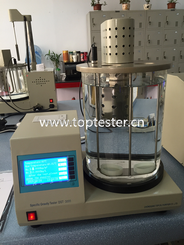 DST-3000 petroleum and chemical liquid specific gravity measuring apparatus