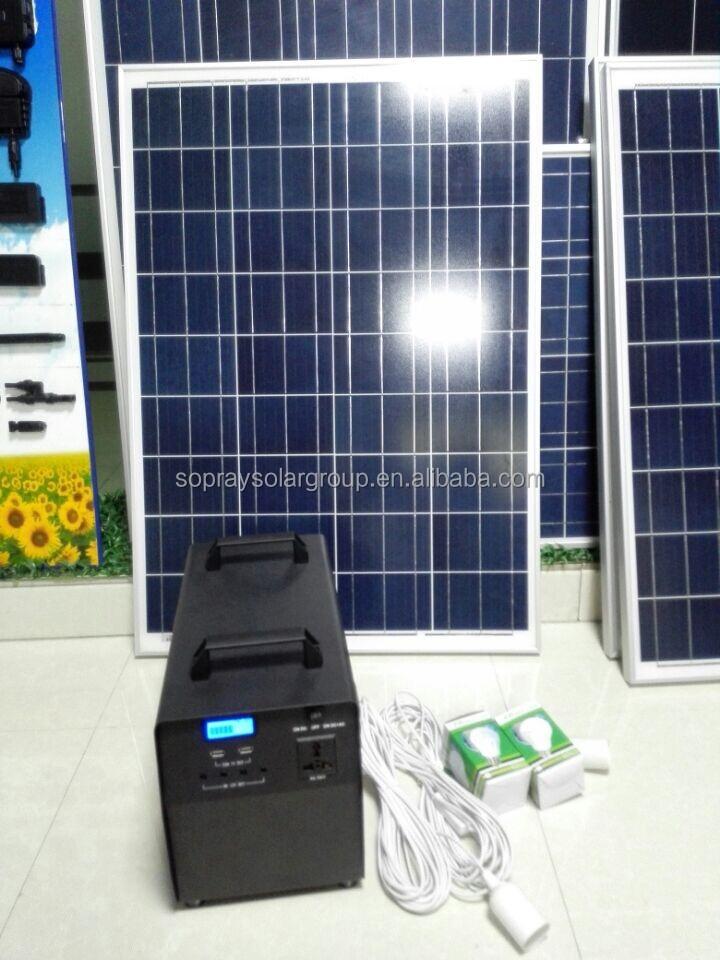 220v 1000 Watt Rechargeable Portable Solar Generator Buy
