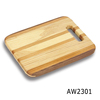 Maple and walnut wood striped wood cutting board