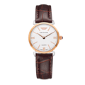 OEM quartz stainless steel lady gold watch
