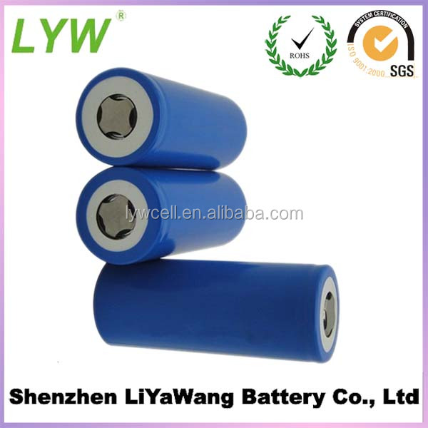 Secondary 18650 lithium ion cell batteries 2200mah for electric tools