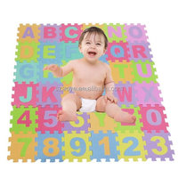 Manufacture Alphabet Letters & Numbers Soft EVA Foam Puzzle Mat Educational Play Room Floor Baby Kids Toys