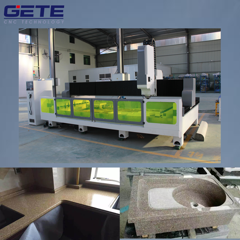 PM-3115 Granite countertop cutting/edging/drilling/polishing Machine