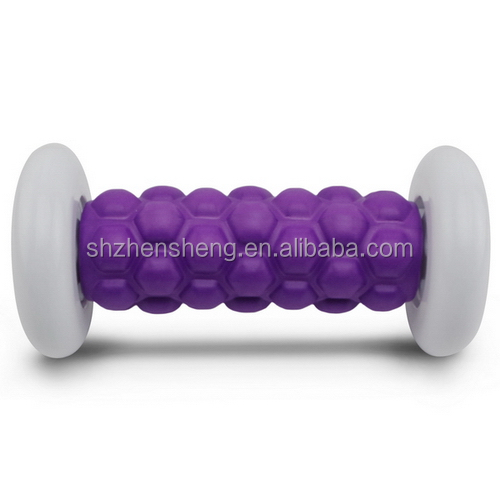 Zhensheng eva soft foot massage roller for exercise