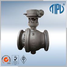 Handwheel high pressure flanged Lining ball valve