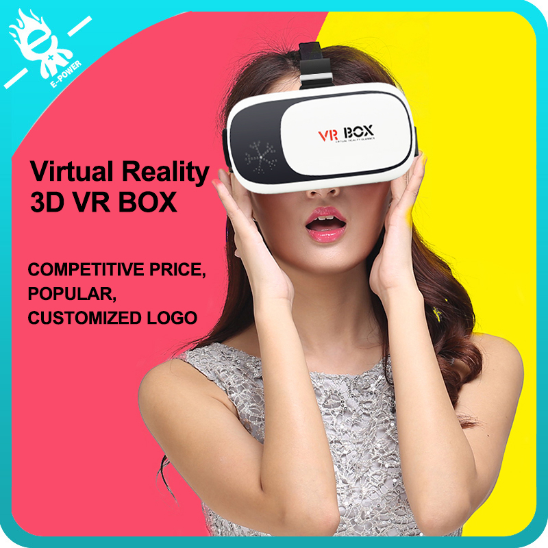 virtual reality vr 3d glasses phone case vr box 2.0 with remote
