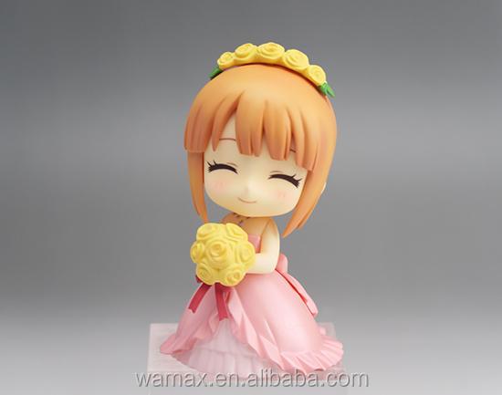 cartoon girl figures Japanese anime girl figure OEM customize Cute version 3d model