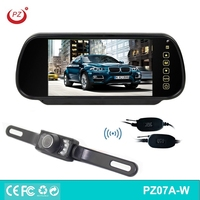 Wireless Car Rear View Camera & Car Rear View Mirror Monitor Reverse Backup Parking Assist