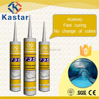 glass skylight silicone sealant,RTV,factory price,300ml tube