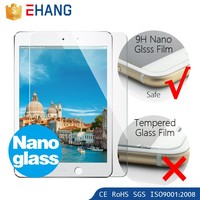 OEM oleophobic bling 3d diamond screen protector for ipad mini