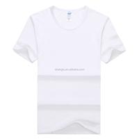Wholesale White Modal T-shirt Man/Women Clothes Custom T-shirt Printing