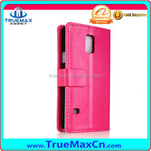 Wholesale PU Leather Cell phone Case for Samsung S5 mini, 4.5 inch