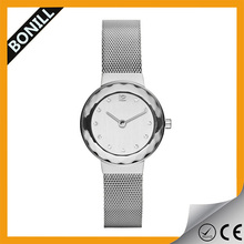 All Stainless Steel Chain Wrist Watch with Japan Quartz Movement SR626SW