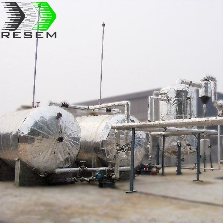 RESEM 10 T/d High Efficiency Zero Pollution <strong>Scrap</strong> Tire Pyrolysis Recycling Plant