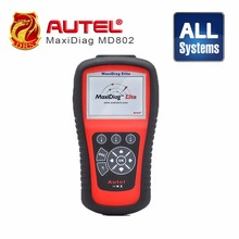 Good quality Autel Maxidiag Elite MD802 withfull system with DS model 4 in 1 auto scanner Autel MD802 PRO