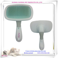 (L) PR80009 supplying variety size light green soft rubber pad hot sell pet brush from fast shipping factory