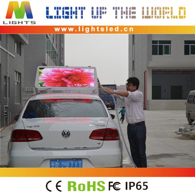 P3 P4 P5 Outdoor Taxi Top Led Display Screen Module ,Outdoor Advertising Taxi Led Display Screen Panel Roof Sign Board Price