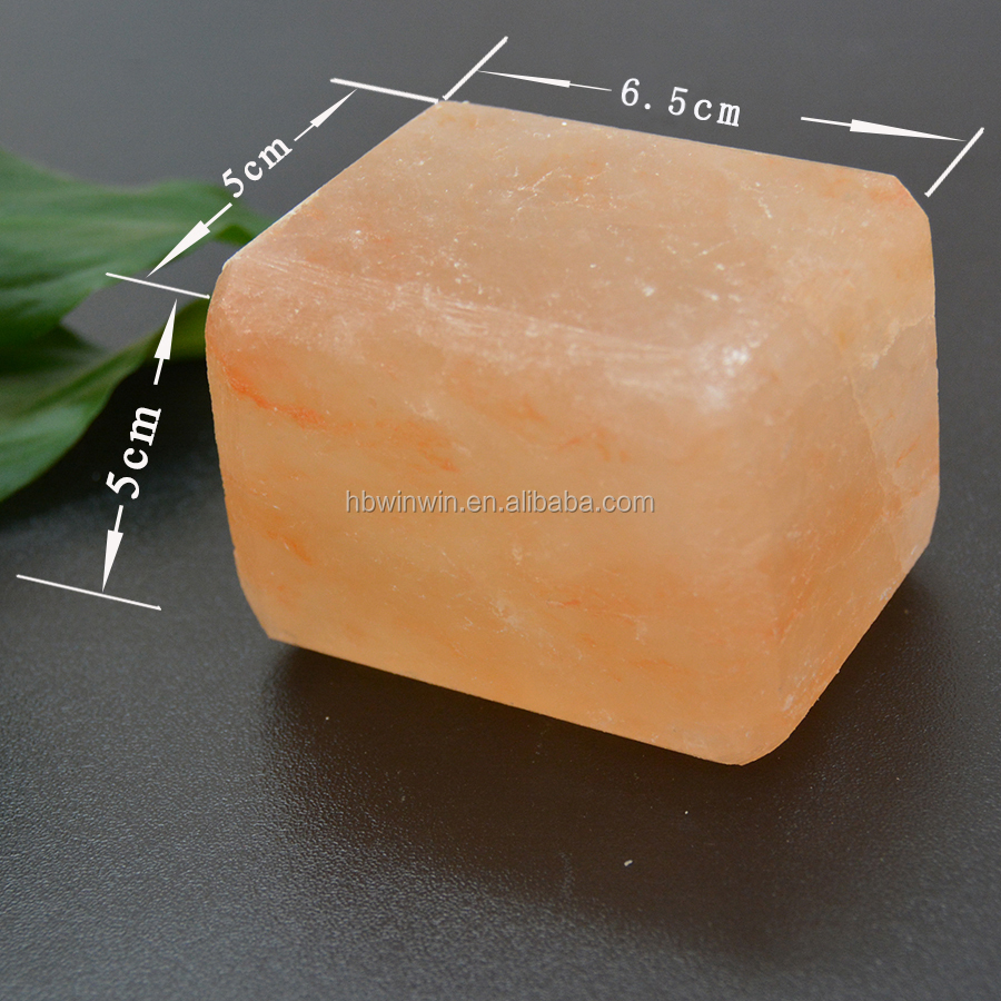 Himalayan bath Salt & salt bar SOAP 6.5*5*5cm Private Label
