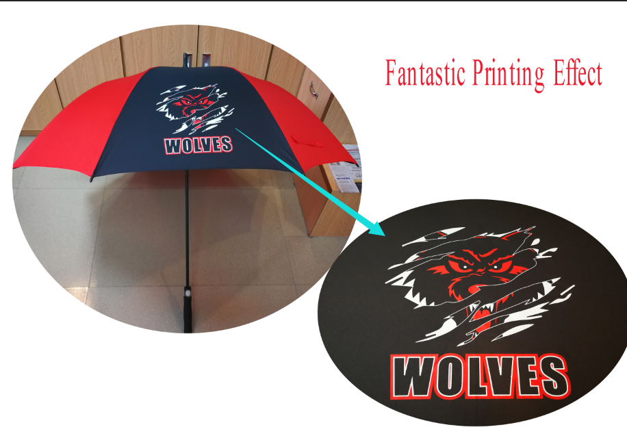cheap custom print umbrella