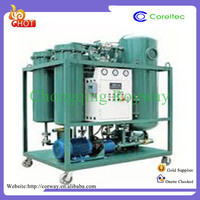 Energy saving waste engine oil treatment oil clarify machine with CE approved