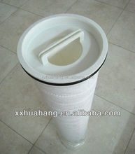 Replacement PALL high flow micropore pleated cheap water filter cartridge HFU640UY100H13