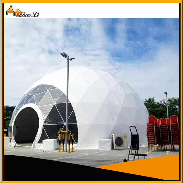 High quality big steel event dome tent for sale