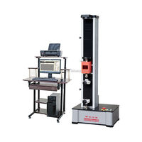 5kN computer control electronic universal bending testing machine steel bar flexural strength test tensile test