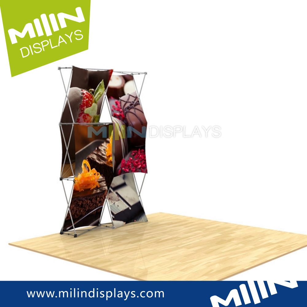 2017 Newest Product 3d Pop Up Display Kit & Pop Up Trade Show Displays for Show Events