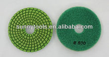 "Good Great Wonderful Wet 4"" 800# Diamond Polishing Pad"
