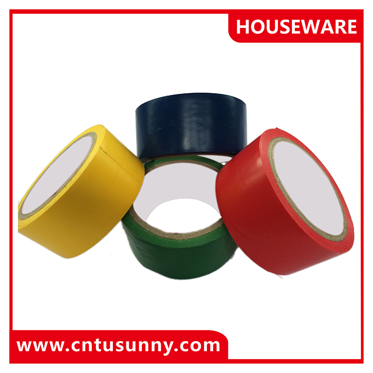 china manufacturer pvc floor marking adhesive tape
