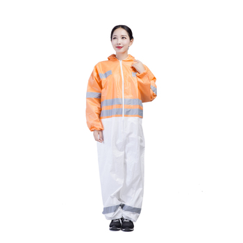Breathable And Waterproof Disposable Microporous Coverall For Safety Protection Clothing