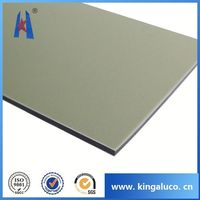 Solid surface aluminium composite cladding weight